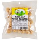 Picture of AUSSIE GOLD DRY ROASTED & UNSALTED MACADAMIAS 225G
