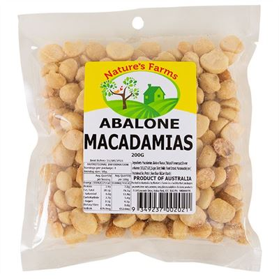 Picture of AUSSIE GOLD ABALONE MACADAMIAS 200G