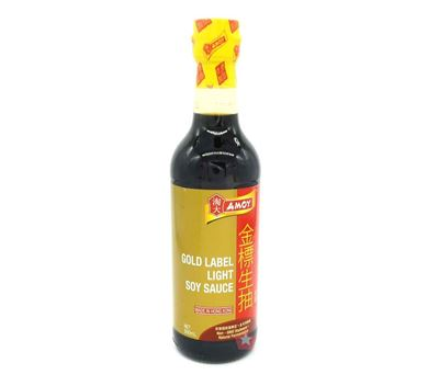 Picture of AMOY GOLD LABEL LIGHT SOY SAUCE 500ML